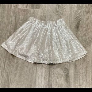 Xhilaration silver skirt- 4/5